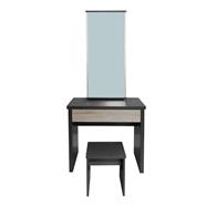 HOFF โต๊ะเครื่องแป้ง 80 ซม. รุ่น YK DT158 สีโอ๊ค