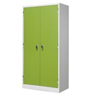 TAIYO ตู้เหล็ก 2 บานเปิด รุ่น CB-722 สีเขียวขาว