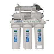 DPURE เครื่องกรองน้ำ 5 ขั้นตอน รุ่น 5-UV สีขาว
