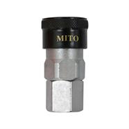 MITO ข้อต่อคอปเปอร์เกลียวนอก รุ่น SM20 สีเทา