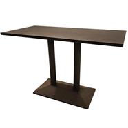 FINEXT โต๊ะอาหารโมเดิร์น 1.20 เมตร รุ่น E-003-3 สีน้ำตาล