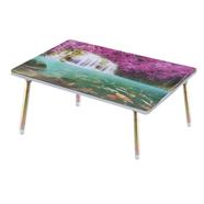 โต๊ะญี่ปุ่นเหลี่ยม ขาเหล็ก OEM 16x24 นิ้ว ลายน้ำตกเอราวัญ