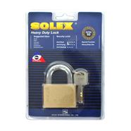 กุญแจคอสั้น 50 มม. SOLEX รุ่น EXTRA PLUS สีทอง