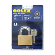 SOLEX กุญแจคอสั้น 50 มม. รุ่น EXTRA PLUS สีทอง