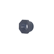 ลดเหลี่ยมเกลียวนอกใน PE 1.5 นิ้ว x 1 นิ้ว OEM รุ่น 354-20152
