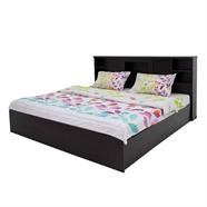 เตียงนอนไม้ OEM รุ่น B098/B229 6 ฟุต สีโอ๊ค