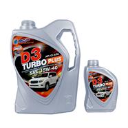 BANGCHAK น้ำมันเครื่อง รุ่น D3 Turbo+15W40 6L ฟรี 1L