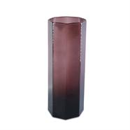 แจกันแก้ว 10.5 นิ้ว สีม่วง OEM รุ่น 290047