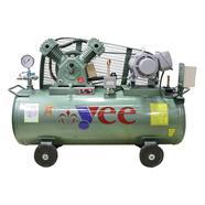 YEE ปั๊มลมพร้อมมอเตอร์ 3 HP x 220 โวลต์ สีเขียว รุ่นSE-32PL