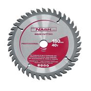 NASH ใบเลื่อยวงเดือน 7 นิ้ว x 40 ฟัน สีเทา รุ่น N12000025