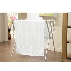 DECO ผ้าขนหนู 27x54 นิ้ว สีขาว