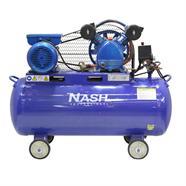 NASH ปั๊มลมพร้อมมอเตอร์ 220 โวลต์ สีน้ำเงิน