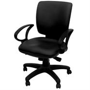 TAIYO เก้าอี้สำนักงานหนัง รุ่น CMT004CSV08 สีดำ