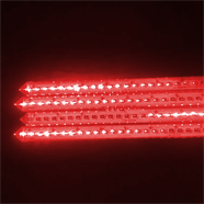 ไฟดาวตกแท่ง 80 ซม.x196 เม็ด 220V. สีแดง
