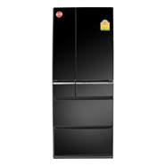 PANASONIC ตู้เย็น SIDE BY SIDE รุ่น NR-F510GT-X สีสแตนเลส