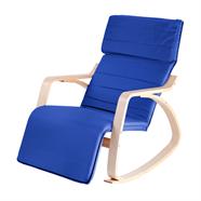 FINEXT เก้าอี้พักผ่อนผ้า รุ่น CM2213T Navy สีน้ำเงิน