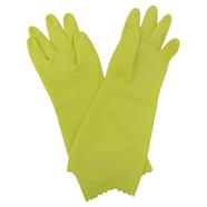 ถุงมือสำหรับงานซักล้าง สีเหลือง SCOTCHBRITE