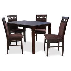 FINEXT ชุดโต๊ะอาหารไม้ 4 ที่นั่ง รุ่น 7079T/118-1C