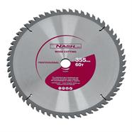 NASH ใบเลื่อยวงเดือน 14 นิ้ว x 60 ฟัน สีเทา รุ่น N12050233