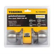 YOSHINO ลูกบิดประตูห้องน้ำสแตนเลส รุ่น YN5871SS-BK