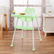 NUBU เก้าอี้ทานข้าวเด็กทรงสูง สีเขียว