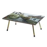 โต๊ะญี่ปุ่น ขาเหล็ก ลายวิว 20x30 นิ้ว