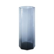 แจกันแก้ว 10.5 นิ้ว สีเทา OEM รุ่น 290047