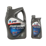 PTT น้ำมันเครื่อง 4L ฟรี 1L รุ่น performaSemiSynthetic 10W40