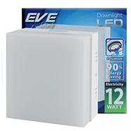 EVE โคมไฟดาวน์ไลท์ LED ติดลอย หน้าเหลี่ยม 12 วัตต์ (DAY LIGHT)