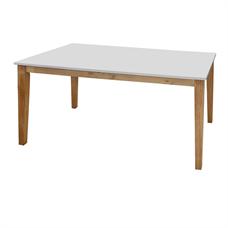 โต๊ะอาหารโมเดิร์น HOFF รุ่น PACO 102 1.50 เมตร สีขาว