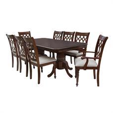FINEXT ชุดโต๊ะอาหารไม้ 8 ที่นั่ง รุ่น 7052T/8029C