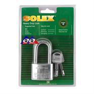 SOLEX กุญแจคอยาว 45 มม. รุ่น MACH II CRL สีเงิน