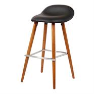HOFF เก้าอี้บาร์หนัง รุ่น SDR-2253-9 สีดำ