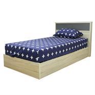 เตียงนอน OEM รุ่น B1182 3.5 ฟุต สีโซลิดโอ๊ค
