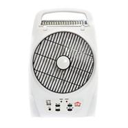 HOUSE WORTH พัดลม ไฟ LED 8 นิ้ว รุ่น HW-FL18F สีขาว