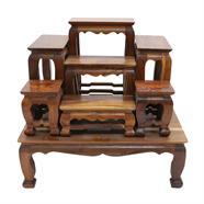 โต๊ะหมู่บูชาไม้สัก 7 หน้า 4 นิ้ว