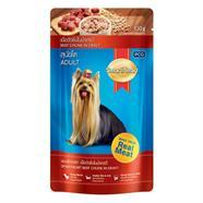 SMART HEART อาหารสุนัขเพาช์ 130 กรัม