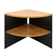 MASS โต๊ะเข้ามุมไม้ 65 ซม. รุ่น CCSS-60 สีเชอร์รี่ดำ