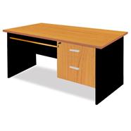 MASS โต๊ะทำงานไม้ 1.20 เมตร รุ่น TWC1202/C (F) สีเชอร์รี่