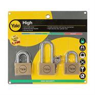 กุญแจคีย์อะไลท์ 50 มม. YALE รุ่น BD50-50LSP3C