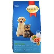 SMARTHEART อาหารลูกสุนัข รสเนื้อไก่ ไข่ และนม 8 Kg.