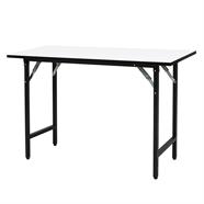 โต๊ะอเนกประสงค์เมลามีน ขาพ่นดำ OEM