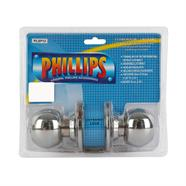 PHILLIPS ลูกบิดประตูห้องน้ำสแตนเลส รุ่น PLSP-12