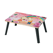 โต๊ะญี่ปุ่นเหลี่ยม ขาเหล็ก OEM 16x24 นิ้ว ลายซารางเฮโย