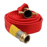 FIREFLEX สายส่งน้ำดับเพลิง 2.5 นิ้ว x 20 เมตร สีแดง