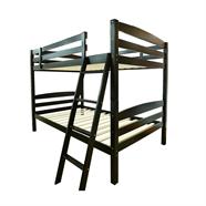 เตียงนอนไม้จริง HOFF รุ่น FoX3020 3.5 ฟุต สีน้ำตาล