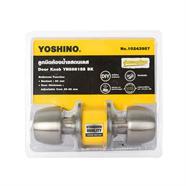 ลูกบิดประตูห้องน้ำสแตนเลส YOSHINO รุ่น YN5881SS-BK