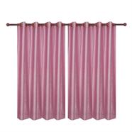 ม่านหน้าต่างตาไก่ OEM รุ่น 1506-27 1.30x1.60 เมตร สีชมพู