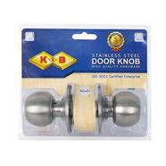 ลูกบิดประตูห้องน้ำสแตนเลส K&B รุ่น dnSLX(92026STL)