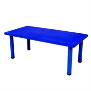 โต๊ะเด็กพลาสติก FINEXT รุ่น YCY-001 60x120 ซม. สีน้ำเงิน